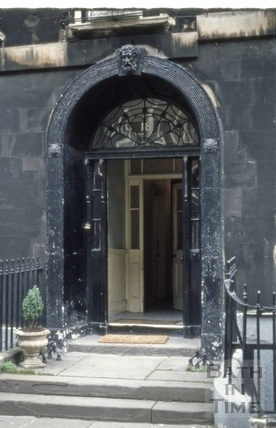 Rivers Street No 15 doorway 1973