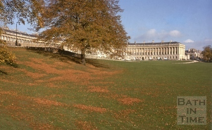 Royal Crescent from west 1975