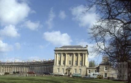 No.1 Royal Crescent restored 1982