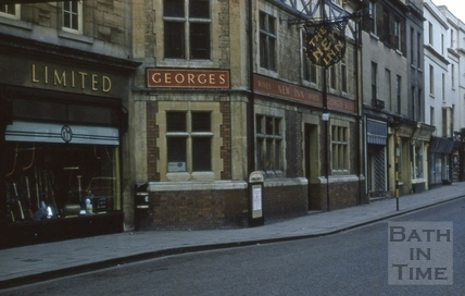 Southgate Street west side from south 1963
