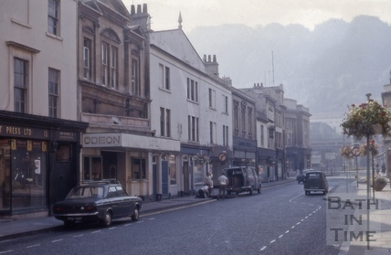 Southgate Street east side from north 1971