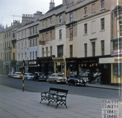Southgate Street east side from south 1963