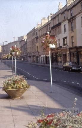 Southgate Street east side from south 1971