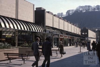 The Southgate Centre, Southgate Street, Bath, 1976