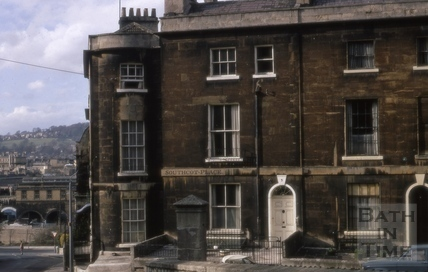 Southcot Place end house 1970
