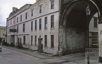Trim Bridge and Street north side from bridge, looking west 1969