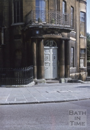 Sydney Place west end of south side detail doorway 1970?
