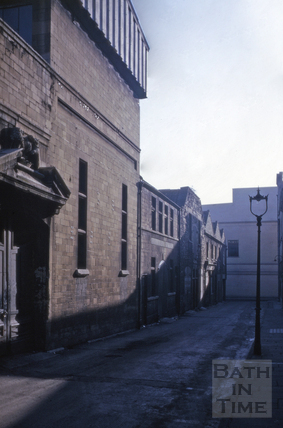 Swallow Street east side from the north 1965