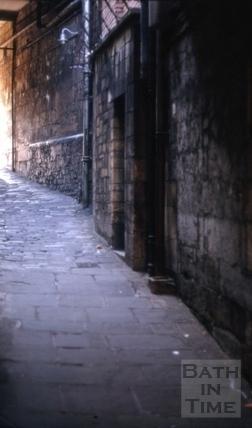 Southgate Street, Marchants Passage 1971