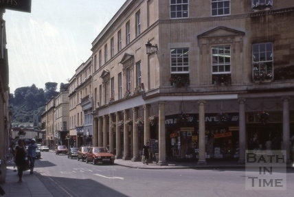 Stall Street west side from the north 1983