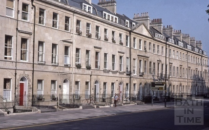 Sydney Place west side cleaned 1984