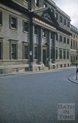 Upper Borough Walls Mineral Water Hospital west wing 1975