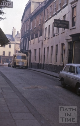 Upper Borough Walls north side from High Street 1974?