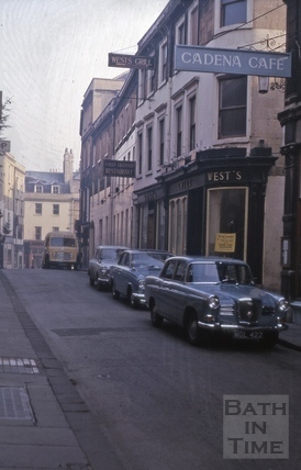Upper Borough Walls from east to Union Street 1964