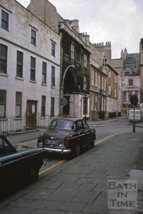 Trim Bridge and Street north side from west end 1969