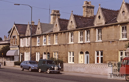 Upper Bristol Road Windsor Place 1971