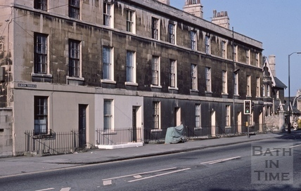 Upper Bristol Road Albion Terrace 1975