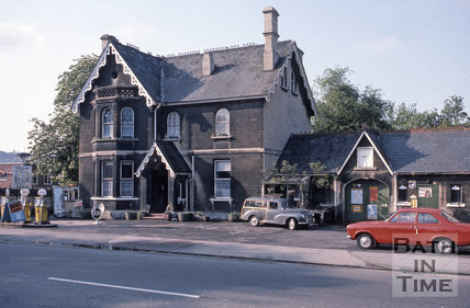Upper Bristol Road Onega Garage and Lodge 1975