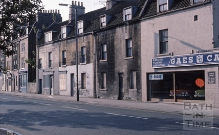 Upper Bristol Road St Georges Place from west 1975