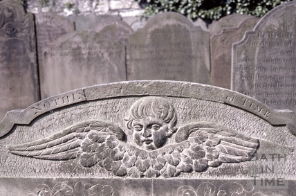 Walcot Cemetery tombstones 1985