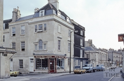 Walcot corner of Chatham Row 1982