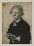 Half-length portrait of a youth
