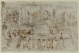 Architectural sketch (verso)