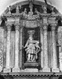 San Lazzaro dei Mundicanti;Monument to Alvise Moncenigo