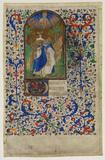 David kneeling in prayer (recto)