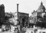 Roman Forum;Arch of Septimius Severus