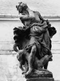 Hospital Complex;Statue of Envy, facsimile