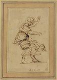 Dancing female figure