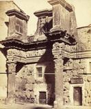 The Imperial Fora;Forum of Nerva;Temple of Pallus Minerva