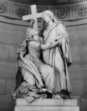 Chapelle Expiatoire;Statue of Marie Antoinette Supported by Religion