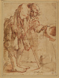 Crippled beggar