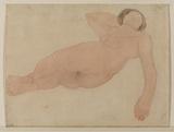 Etude de femme nue