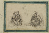 Two studies of Virgin and Child