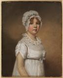 Portrait of a young girl - Miss Elizabeth Holt (?)