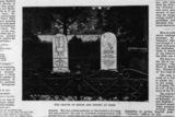 Graves of John Keats and Joseph Severn