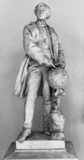 Model (demi execution) for the Monument to Urbain Le Verrier