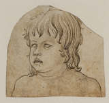 Head and shoulders of a child