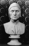 Girton College;Bust of Dante Alighieri