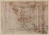 Architectural capriccio (verso)