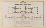 Ground plan of the Villa del Pigneto Sacchetti at Castelfusano, near Ostia