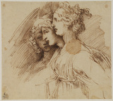 Study of three female heads