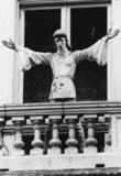 Rock Circus, London Pavilion;Statue of David Bowie