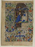 Coronation of the Virgin (recto)
