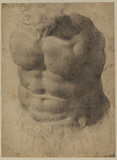 Study of a torso (recto)