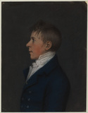 Bust portrait of a boy