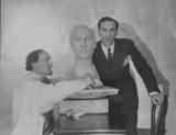 Bust of Sidney Bernstein
